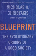 "Cover for ""Blueprint: the Evolutionary Origins of a Good Society"""