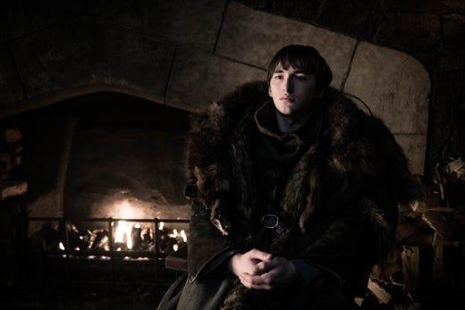 Isaac Hempstead-Wright as Bran Stark on