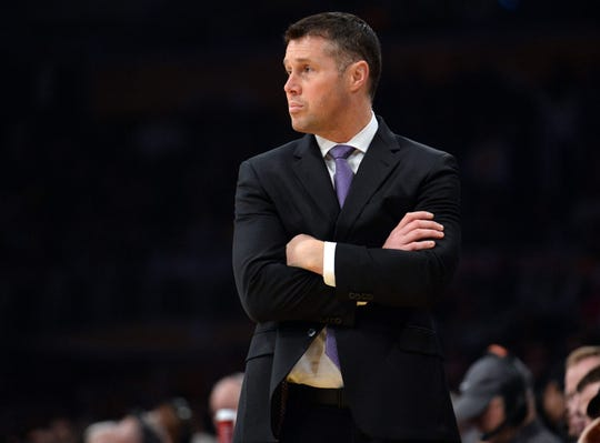 Sacramento Kings head coach Dave Joerger.