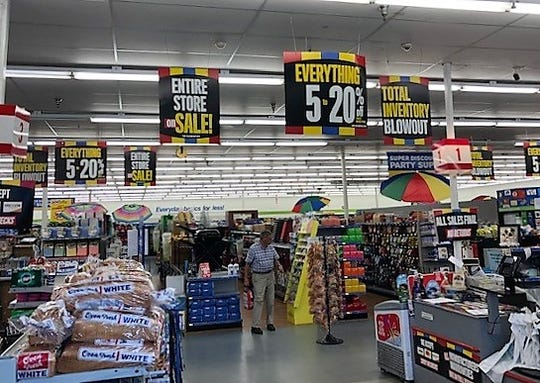 "Closing sales started at 159 Fred's stores April 11 and ""Total Inventory Blowout"" clearance sales launched at an additional 360 locations."