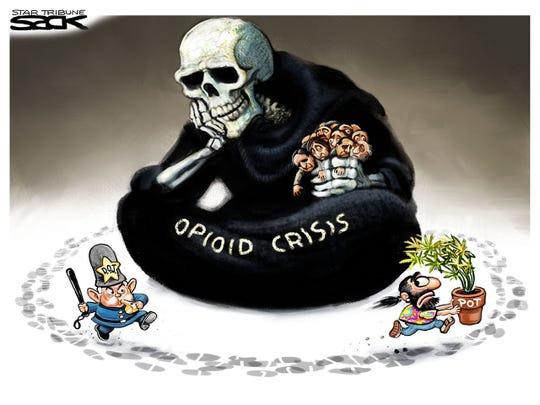 Pot vs opioids