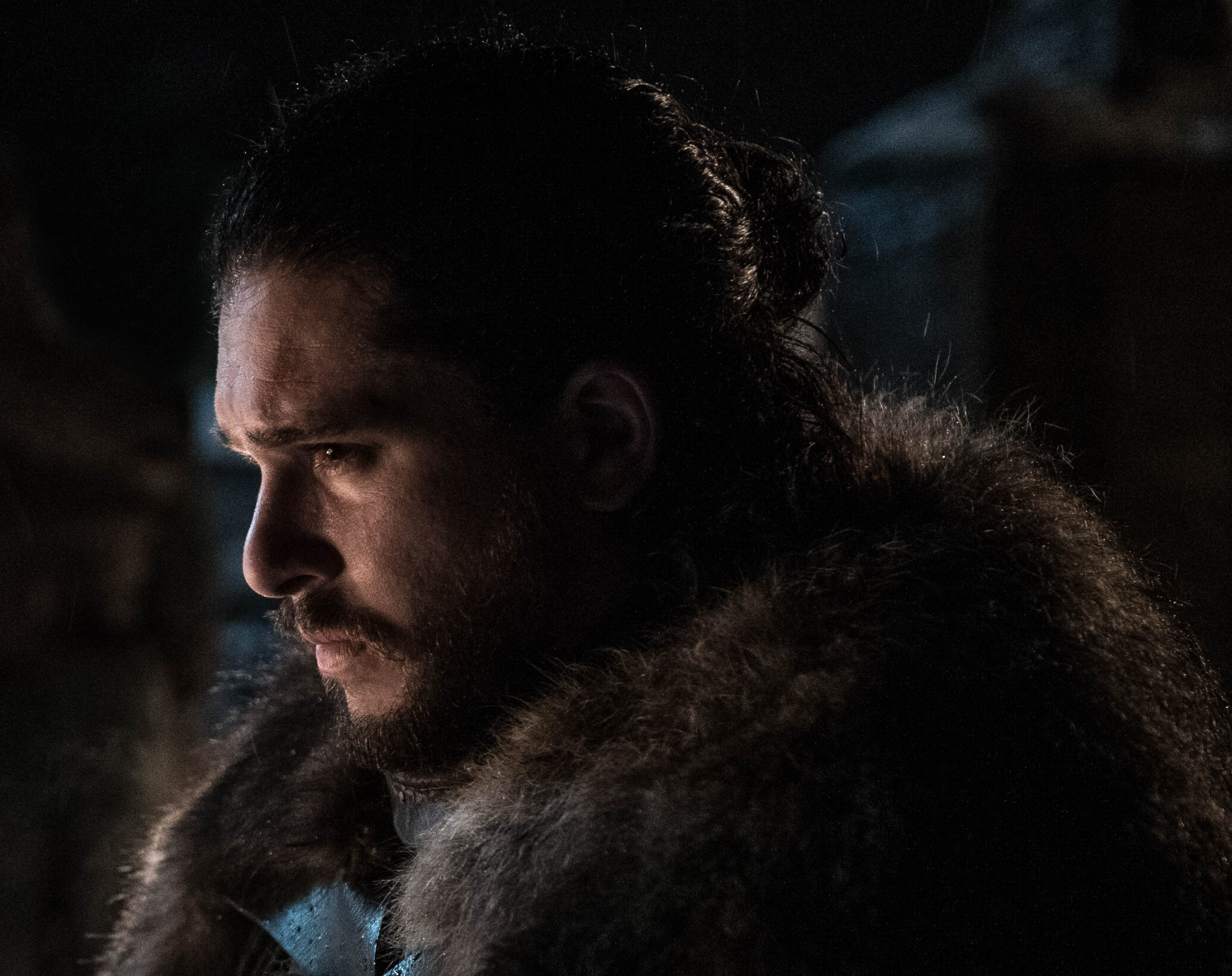 "Kit Harington as Jon Snow on ""Game of Thrones."""
