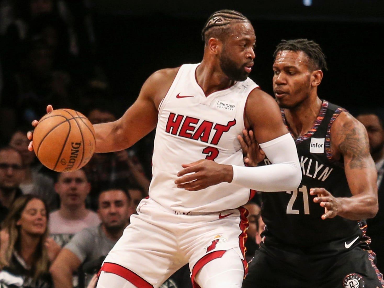 125. Dwyane Wade, Heat (April 10): 25 points, 11 rebounds, 10 assistsin 113-94 loss to Nets.