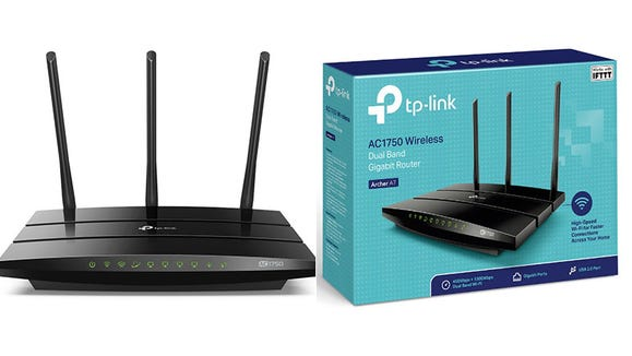 This wireless router offers faster performance for your devices at a farther range.