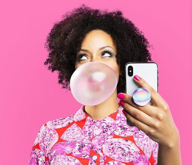 Prop up your smartphone with a PopSocket ($10-up) on the back – ideal for mobile gamers who use a wireless controller to play.