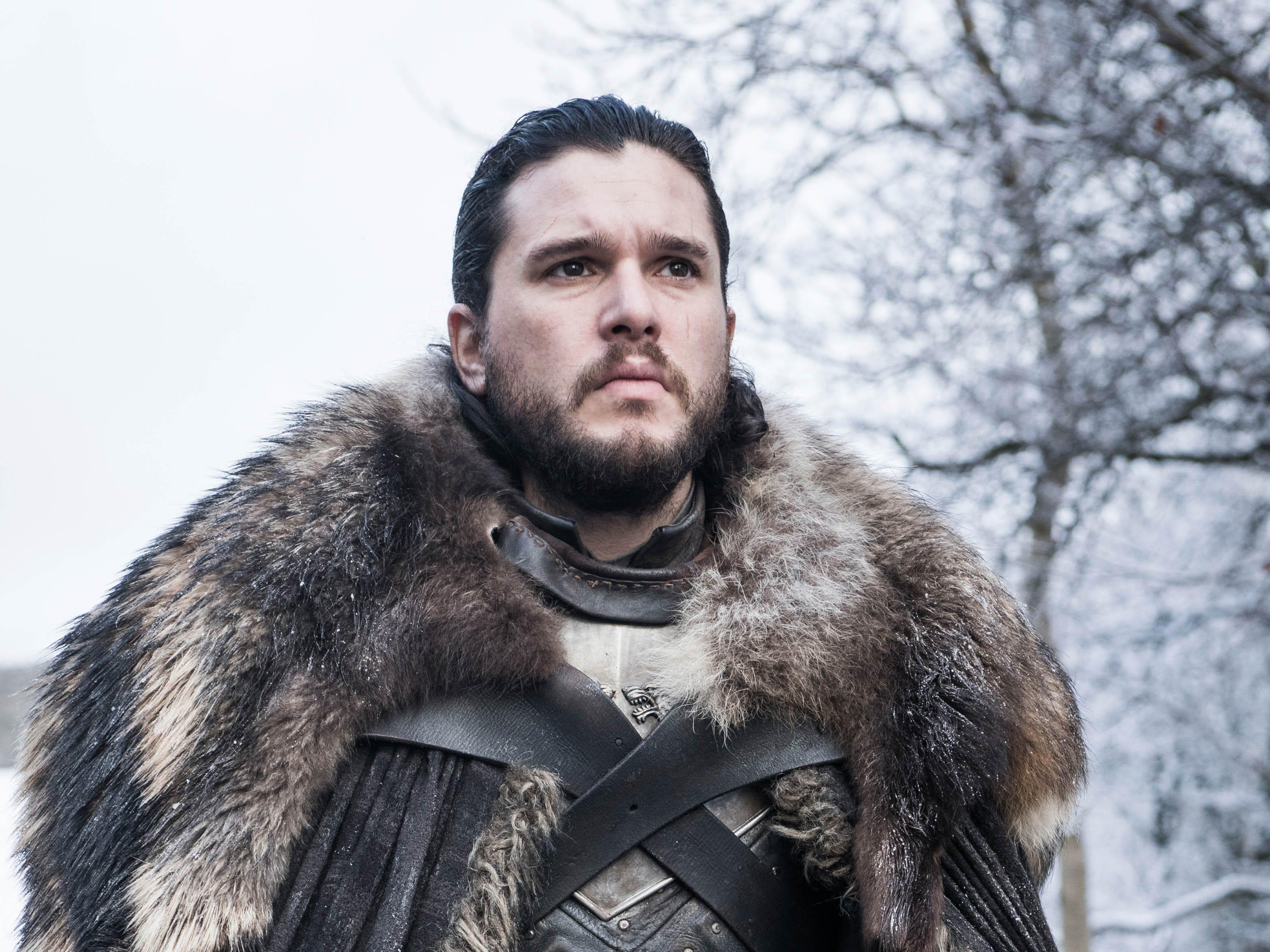 "Kit Harington as Jon Snow on ""Game of Thrones."""