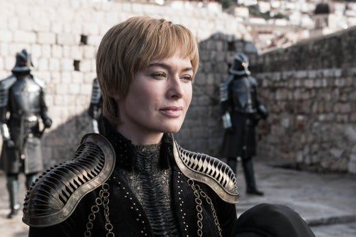Lena Headey as Cersei Lannister on