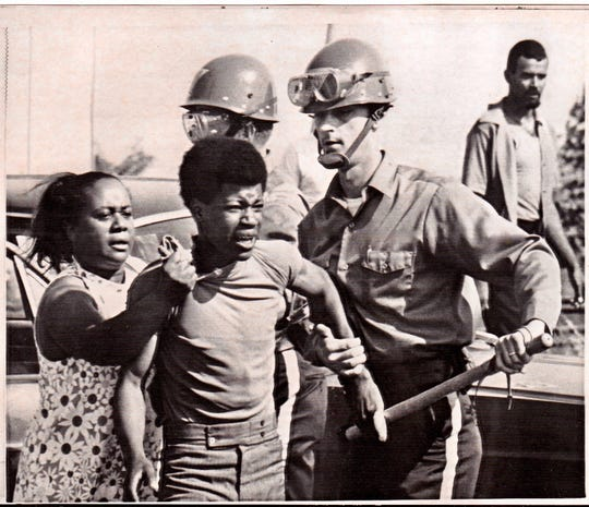 The Asbury Park riots in the summer of 1970.