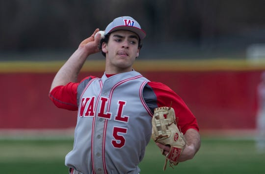 Grant Shulman pitched two innings of relief for Wall on Thursday in its 4-1 win over Ocean.