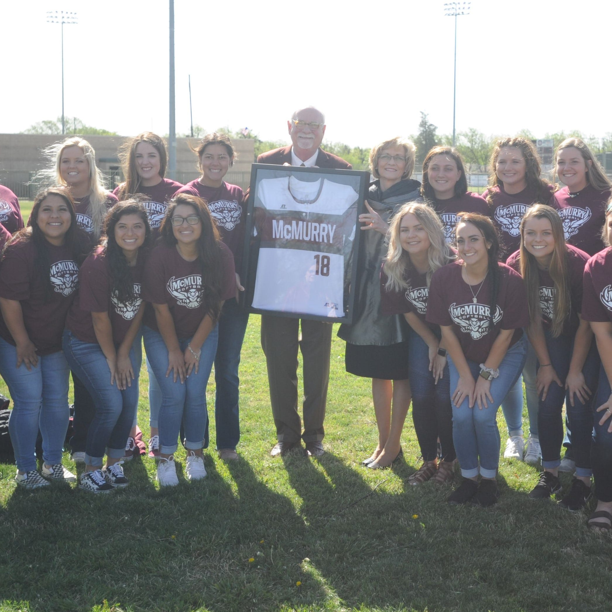 McMurry softball to get its own field after donation from trustee, husband
