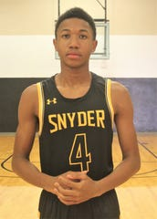 Alonzo Wesley averaged 18.9 points and 7.1 rebounds per game for the Snyder Tigers this past season, and the senior is the Abilene Reporter-News' All-Big Country Class 4A/6A boys basketball MVP.