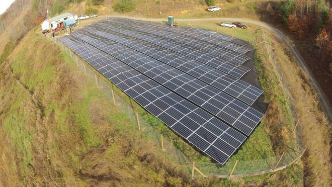 The CM Wilson Solar Fild currently generates enough electricity to power 50 homes.