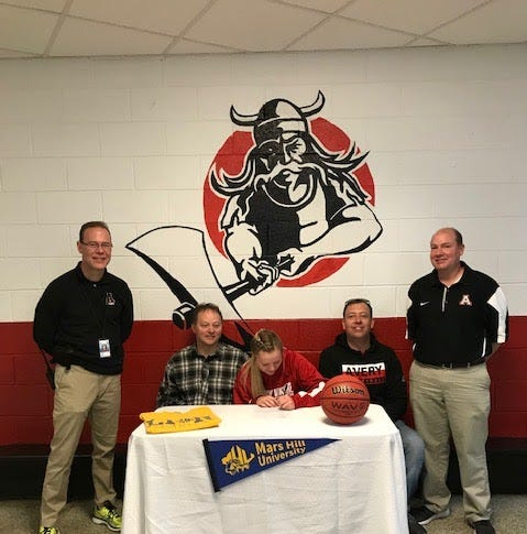 Avery County's Heaven Nelson to play college basketball