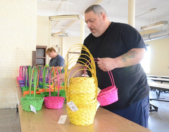 Alphonse Bifulco and his New Leaf Project is collecting food for Easter baskets.