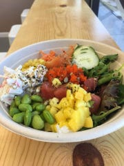 Barkada Bowl in Cape Canaveral is known for its fresh, colorful dishes.