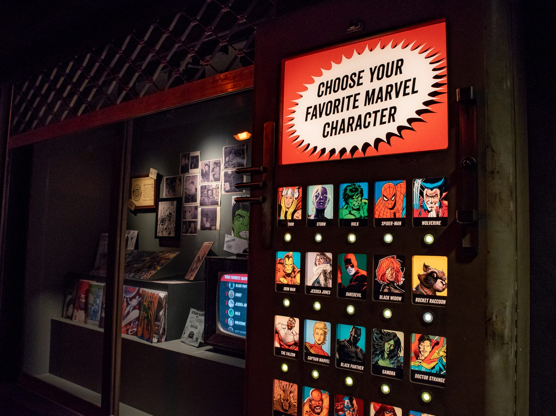 The new 'Marvel: Universe of Super Heroes' exhibit at the Franklin Institute.