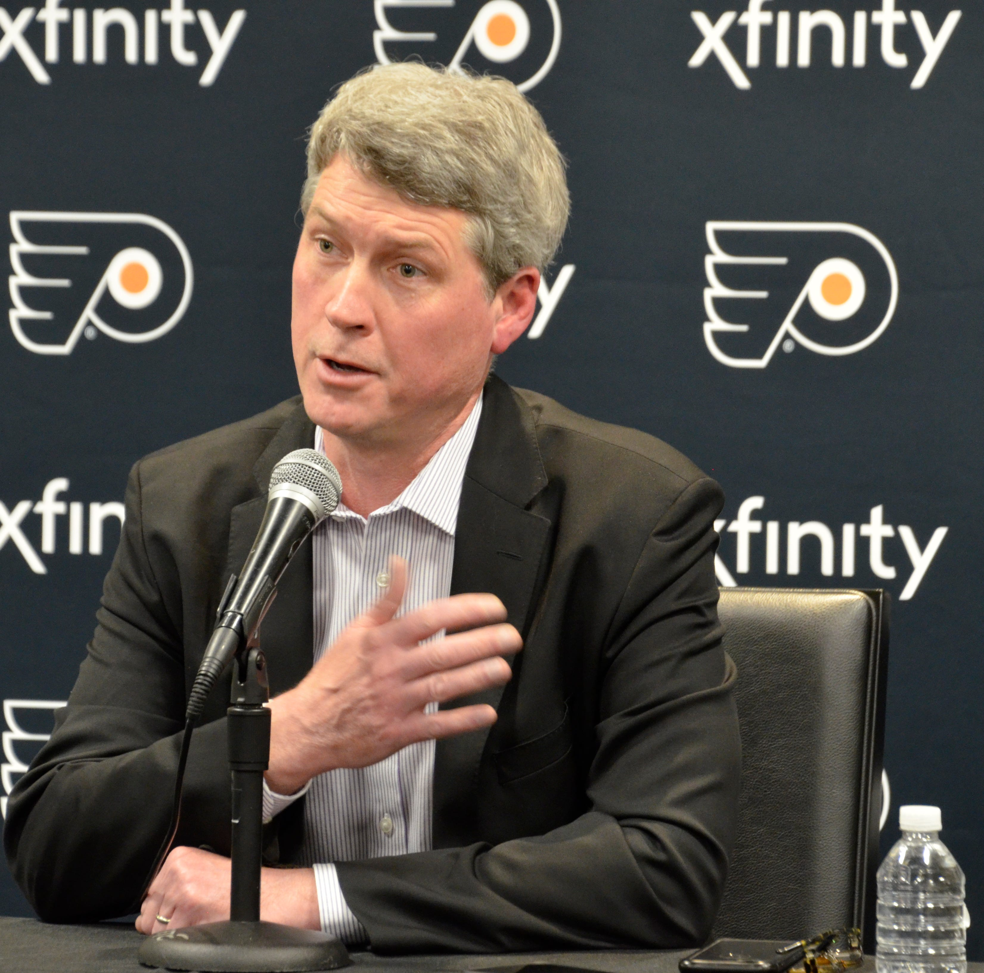 Why Chuck Fletcher is OK with Flyers getting older on defense