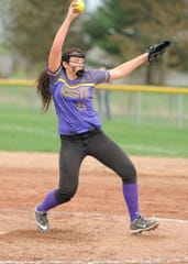 Unioto High School's Jocie Fisher earned honorable mention All-Ohio honors in Division II.