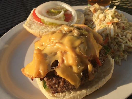A Zola burger. $6 on Wednesdays at Zola Bar in Covington.