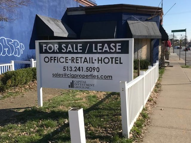 A developer with new plans for the former site of the Pig & Whistle and surrounding property in Hyde Park is not saying why it is for sale or lease.