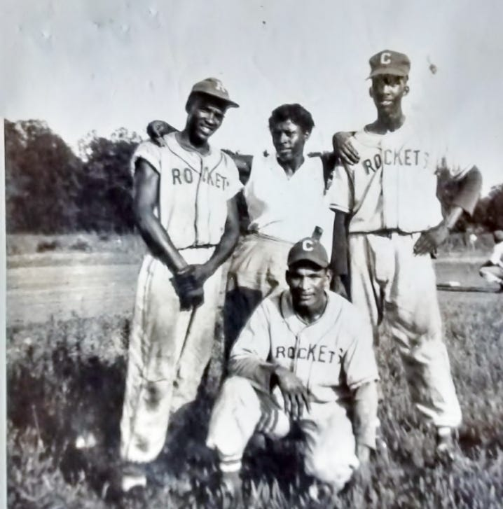 Who were the Rockets, Clarksville's Negro League baseball team?