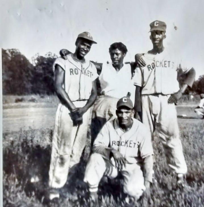 Who were the Rockets, Clarksville's Negro League baseball team?
