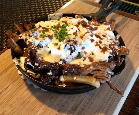 Short rib disco fries at Rocky Hill Inn.