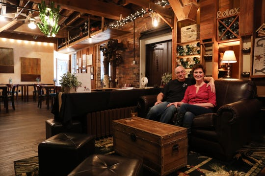 Dan and Judy Garver own and operate Baltic Mill Winery out of a former flour mill in downtown Baltic.