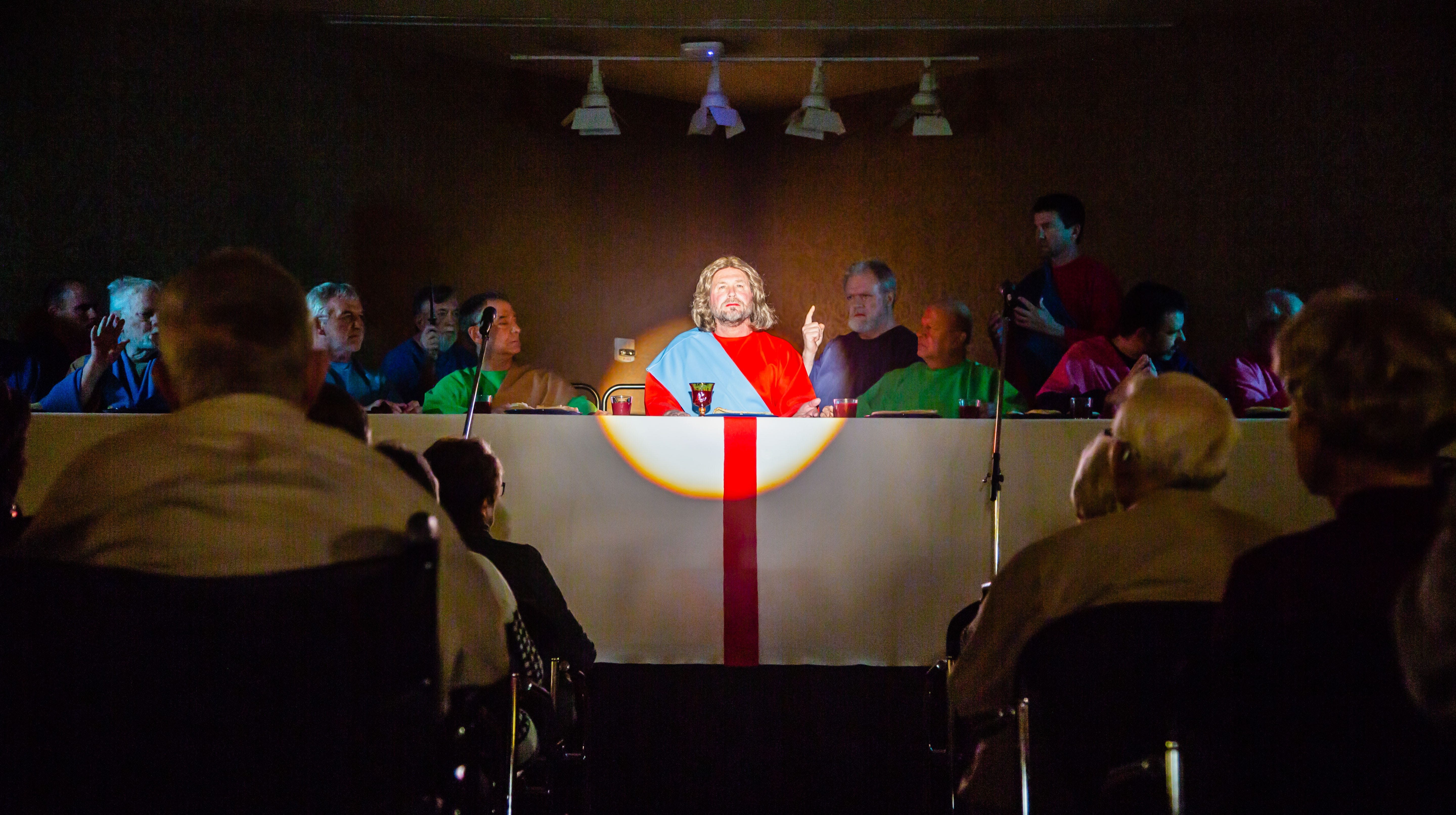 West Des Moines church's 'Last Supper' drama marks 50th year