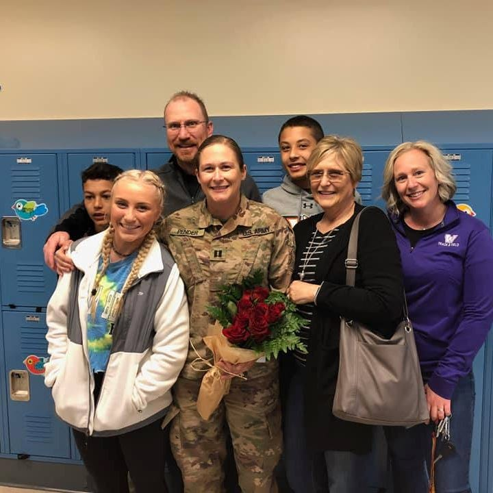 Watch: Iowa National Guard mom surprises family upon return from Afghanistan