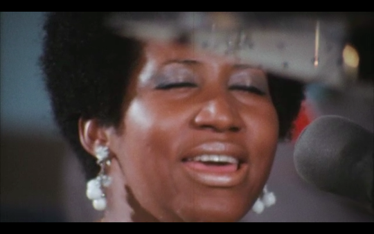 "Aretha Franklin in ""Amazing Grace"""
