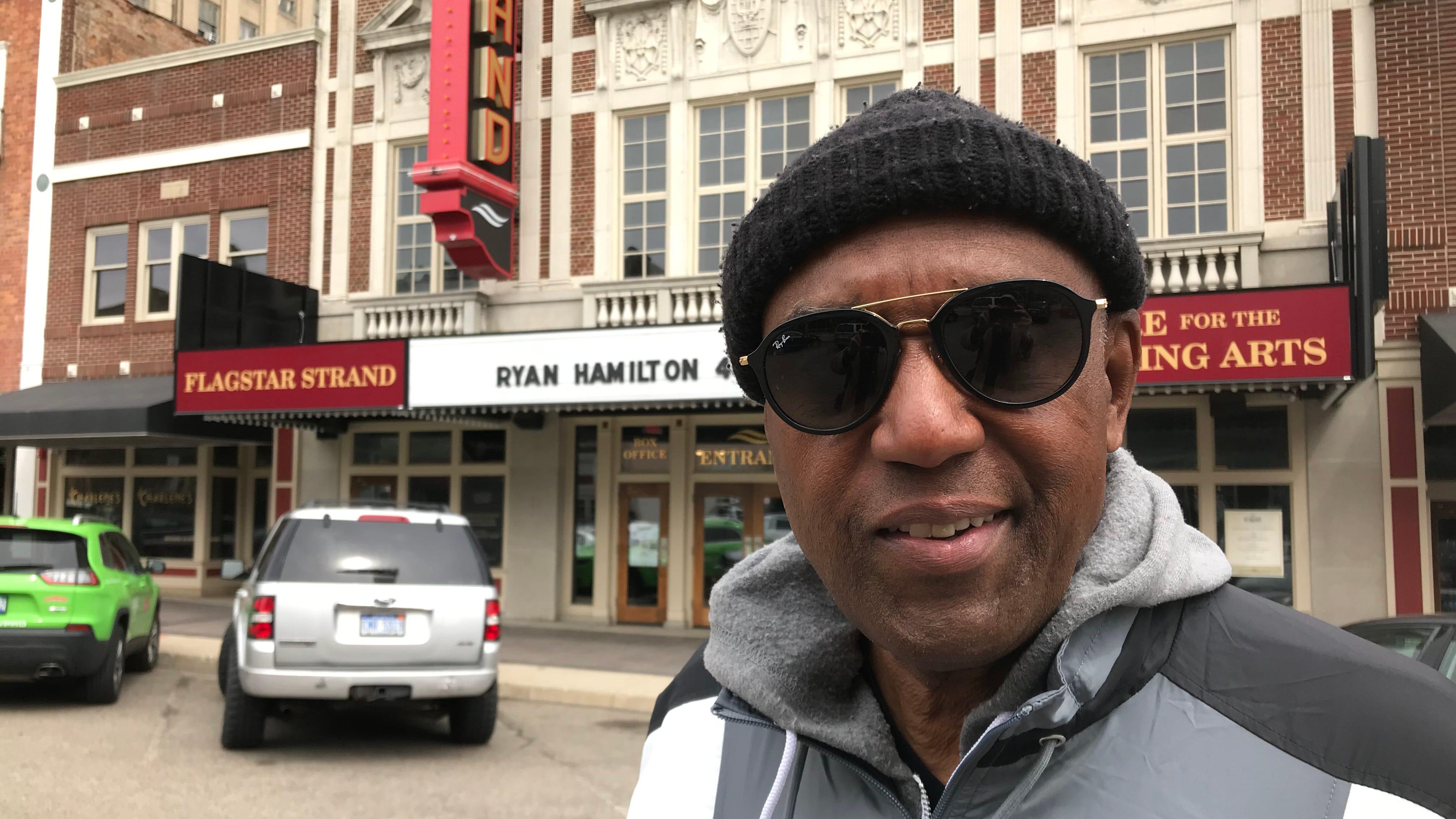 Walter Moore, former Pontiac mayor, smiles in the...