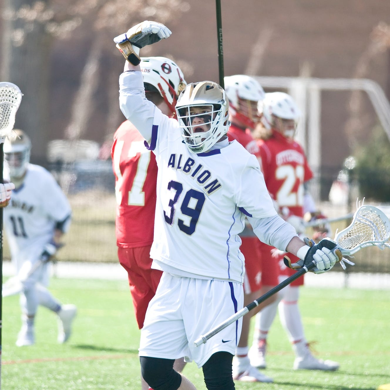 'Unstoppable' Albion College lacrosse player's toughest foe: A brain tumor
