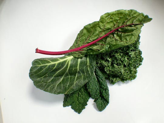 Kale, Collards, and Swiss Chard