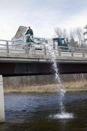 In 2018, the Department of Natural Resources stocked 22.2 million fish in waters across the state.