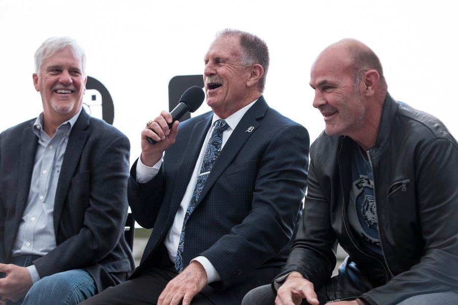 Dan Petry, Dave Rozema and Kirk Gibson are still all smiles 35 years after winning the World Series.
