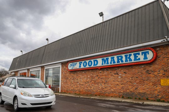 The One Food Kosher Food Market in Southfield, Michigan, is photographed on Friday, April 12, 2019.