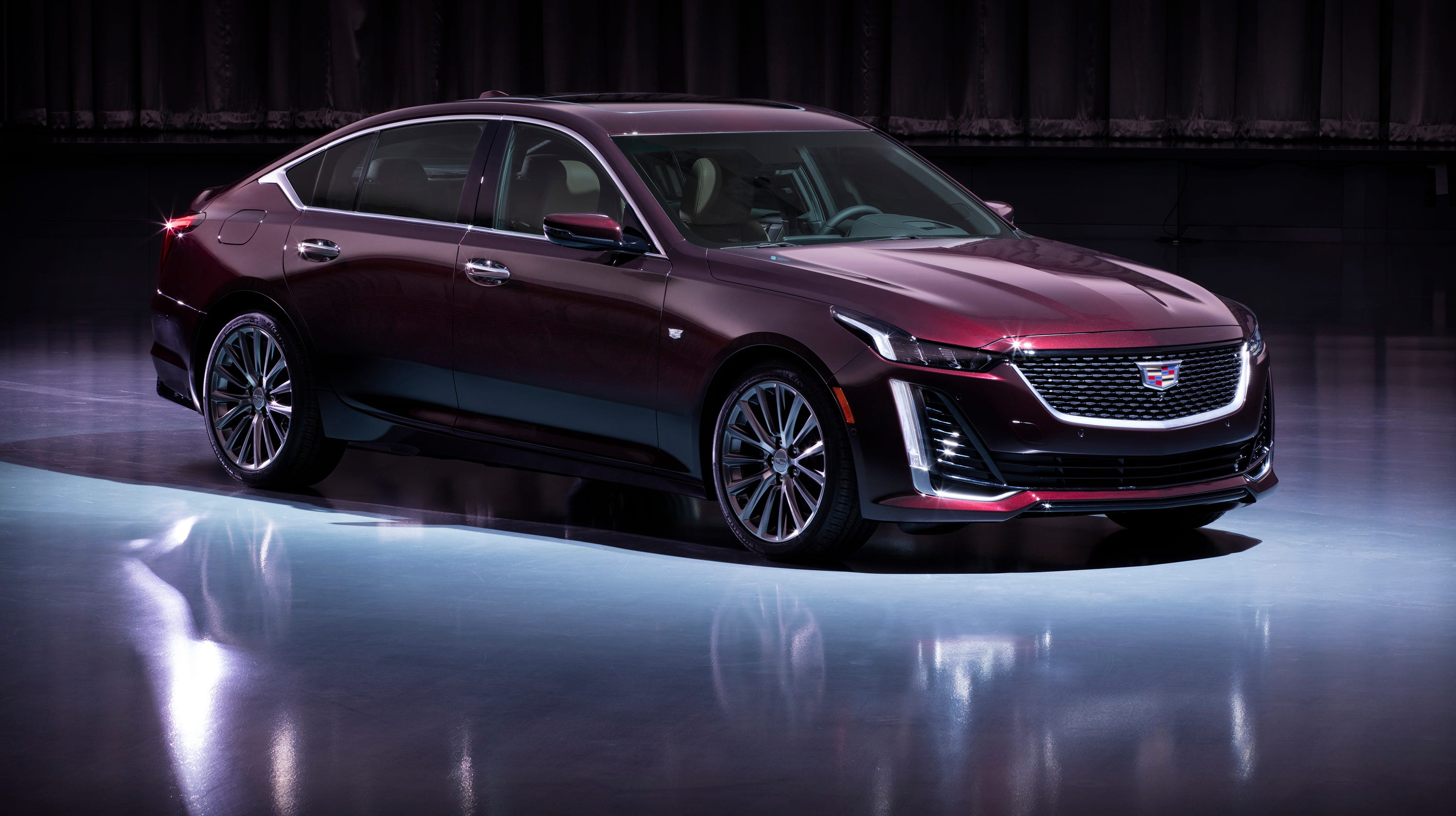 2020 Cadillac Ct5 Luxury Sedan Priced Far Below Cts Predecessor