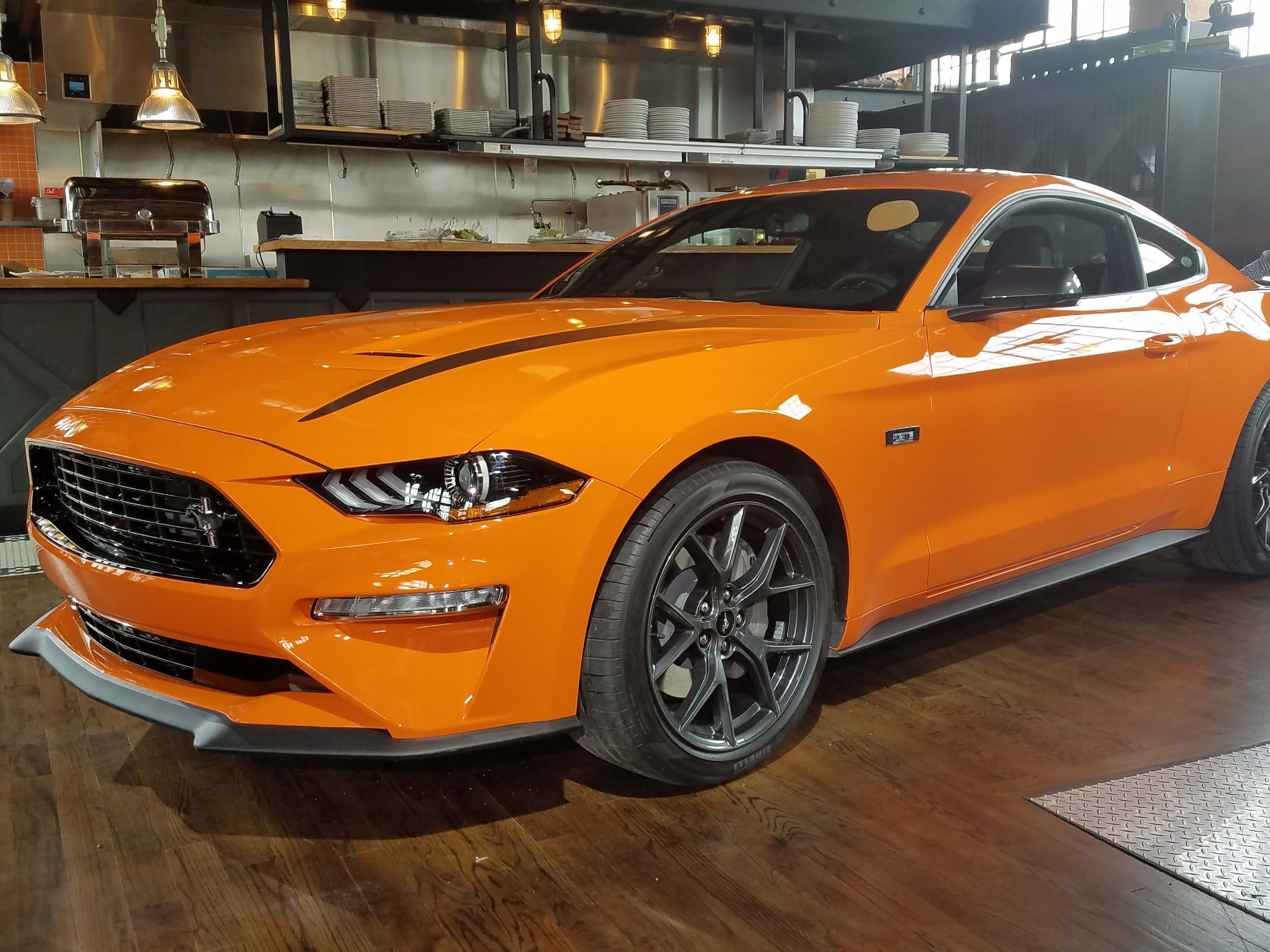 The Ford Mustang Ecoboost High Performance brings track-like performance to its turbo-4 lineup. V-8 powered Mustangs have long had high-performance options.