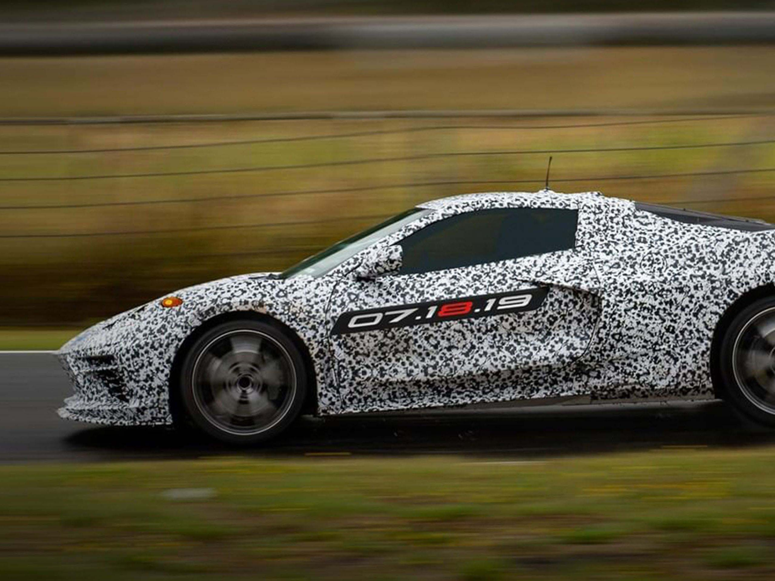 The long-awaited Chevrolet C8 is the first production 'Vette with the engine behind the driver.