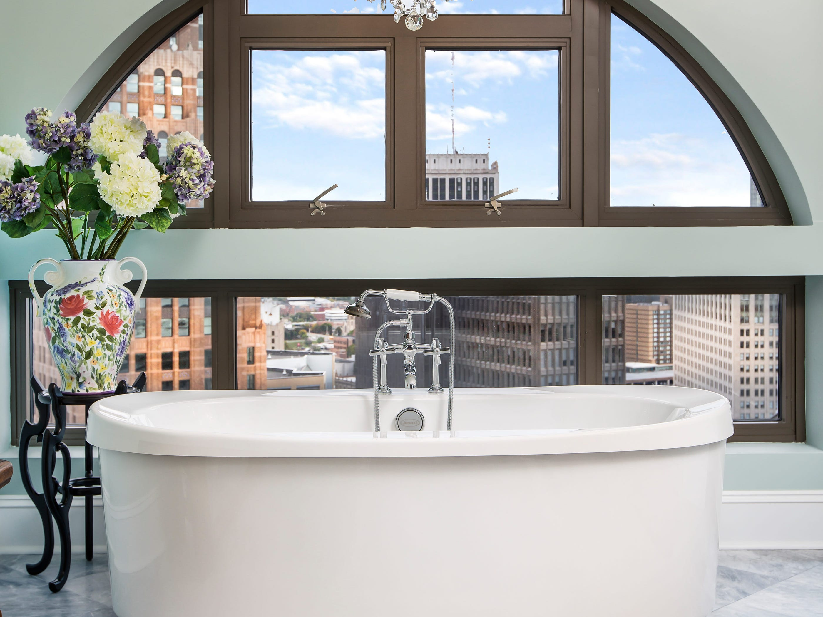 This is a bathtub with a view.