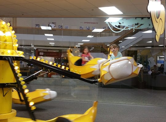 The Banana Squadron ride