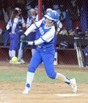 Emma Loomis had two hits and two RBIs for Horseheads in an 11-1 win over Elmira on April 11, 2019 at Ernie Davis Academy.