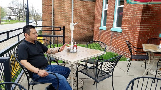 Antonio Ragazzo of Coyote Restaurant in Henderson.