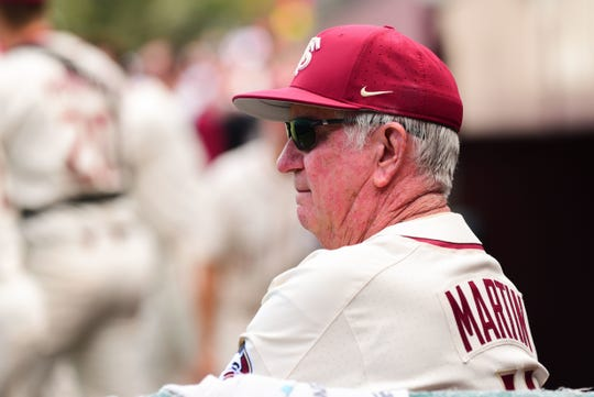 Florida State head coach Mike Martin's 39-year postseason streak is in danger of getting snapped this season.