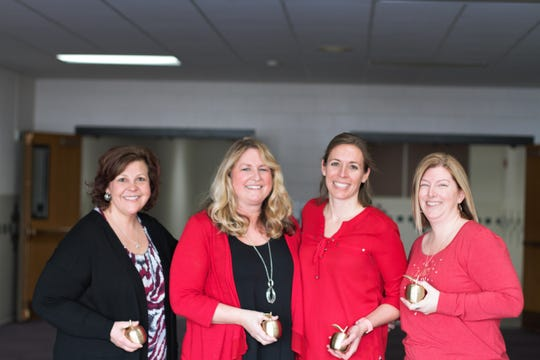 The Valley View Elementary School literacy team is, from left, Deb Patterson,  Sheryl Stathas, Ann Brennenstuhl and Stacie Schabow.