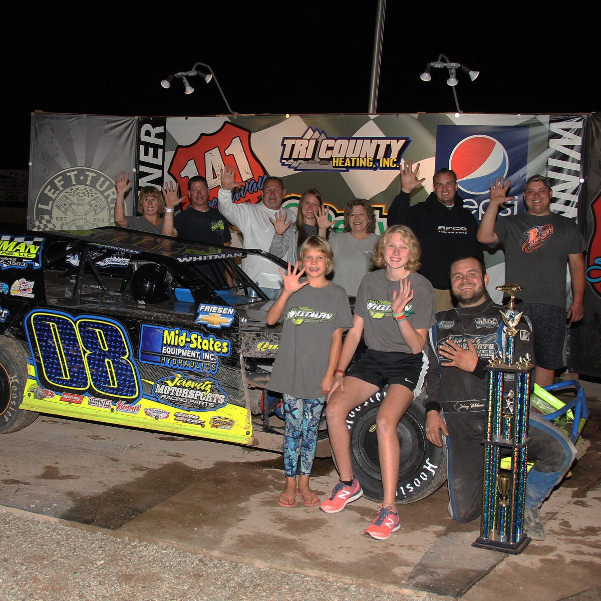 141 Speedway ironman Whitman going for sixth straight IMCA modified title