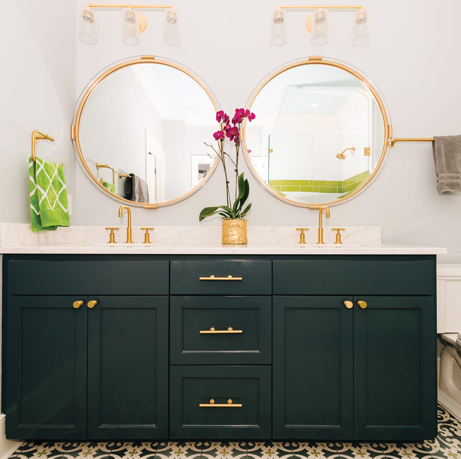 Bathroom as a favorite room? When it looks this good, nothing's wrong with that
