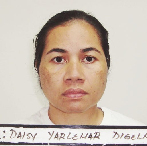 Daisy Digelmar allegedly slashed man's hand with knife, charged with aggravated assault