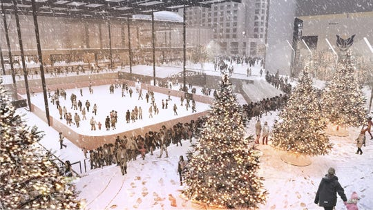 The upgrades will include a public plaza to host year-round events near the Pennsylvania Street entrance. The area can be available for concerts, ice skating and even basketball games.